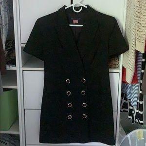 Black French Connection Blazer Dress
